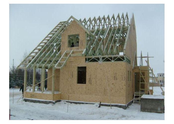 стриоительство домов: строительство каркасных домов - купить в регионе Россия в интернет-магазине ИП Брылев К.Н.. Продажа онлайн